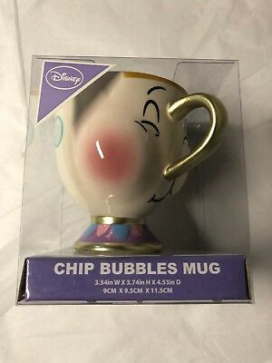 New Primark Exclusive Disney Beauty & The Beast Chip Mug Blowing Bubbles