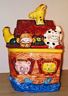 SS Ark -  Noah's Ark Ceramic Cookie Jar by Express Productions