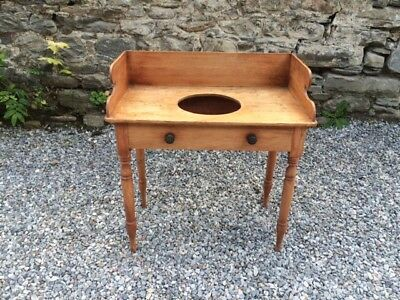 Victorian Rustic Pine Vintage  Washstand