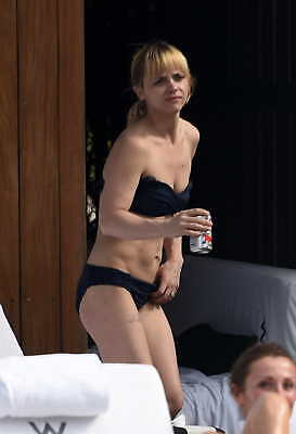 Christina Ricci With Beer In Hand 8x10 Photo Print