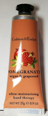 Crabtree & Evelyn Pomegranate, Argan & Grapeseed Hand Therapy Cream 25g