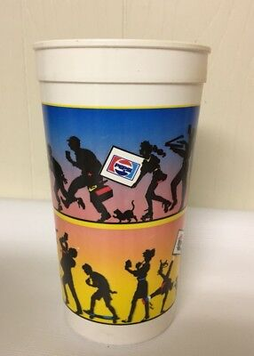 Vintage Pizza Hut Pepsi Large Plastic To Go Cup Restaurant Slice Dancing Drink