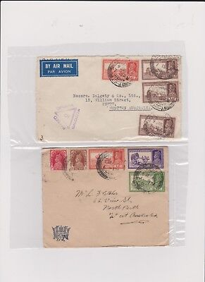 INDIA 2 VERY OLD STAMP COVERS grandpa special D