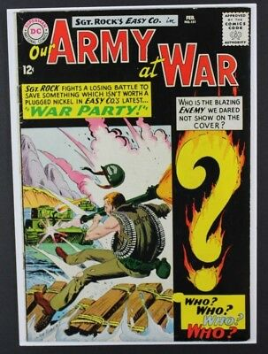 Our Army at War #151 DC Comics 1965 1st Appearance Enemy Ace Key