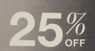 Macys  Enjoy 25% off your entire purchase!
