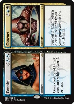 *4x Connive // Concoct* Guilds of Ravnica MTG DeadGuyGames