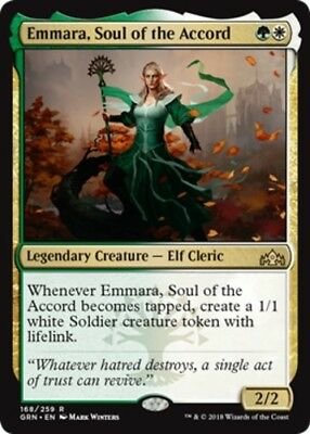 *4x Emmara, Soul of the Accord* Guilds of Ravnica MTG DeadGuyGames