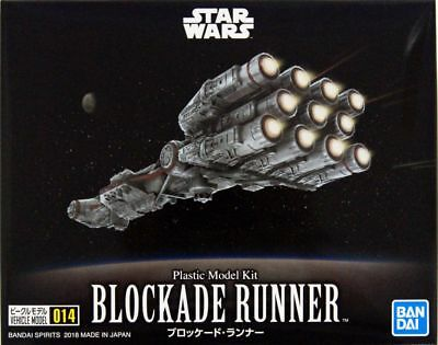 Bandai Star Wars Vehicle Model 014 Blockade Runner Plastic Model Kit