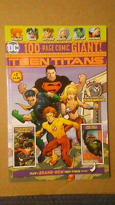 Teen Titans #1 - Walmart 100 Page Giant Exclusive DC Comics 1st Appearance