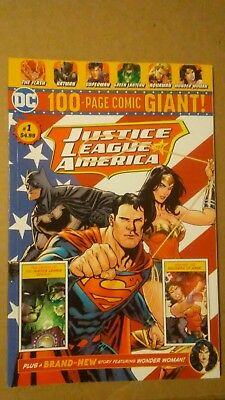 DC JUSTICE LEAGUE of AMERICA 100-PAGE GIANT (2018) #1 Walmart KEY