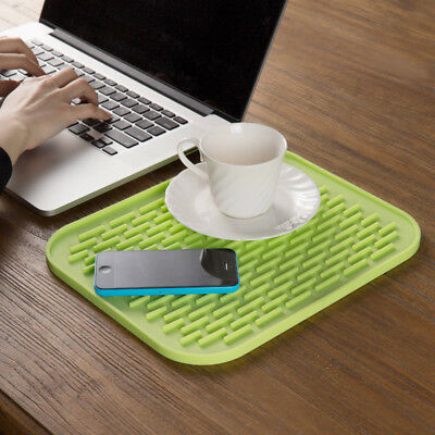 Silicone Mat Durable Heat Resistant Insulation  Placemat Non-slip Pan Pot Holder
