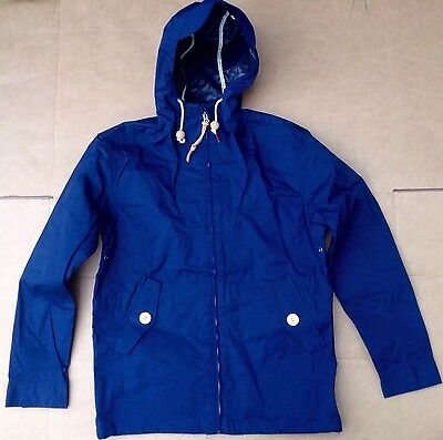 "Penfield Gibson ""Hudson"" Wax Jacket. Hooded.Navy Blue.Medium. BNWT. Last One."