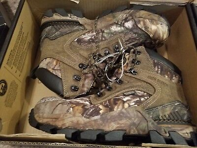 de3b9d48ae1 RED WING SHOES Irish Setter Men's Deer Tracker Camouflage Hunting Boots Sz  10.5