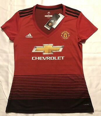 Adidas Womens Manchester United Home Soccer Jersey Womens Size  Medium f7f926649