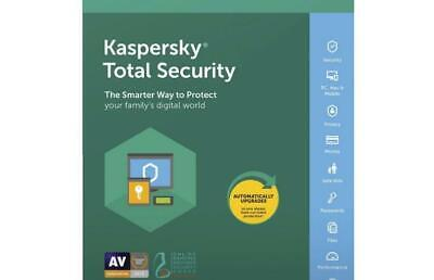 Kaspersky Total Security 2019 3 Device PC 1 Year Fast Email license key