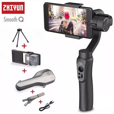 Zhiyun Smooth-Q 3-Axis Handheld Gimbal Stabilizer for GoPro Smartphone iPhone