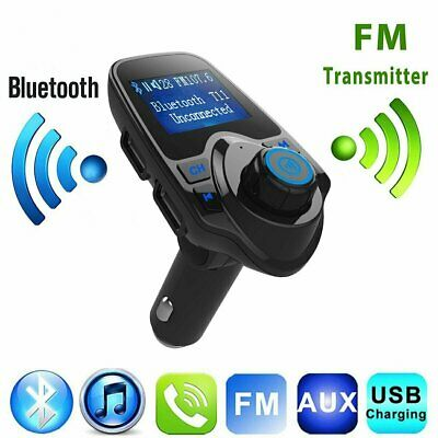 Wireless Bluetooth LCD Car MP3 FM Transmitter AUX USB Disk Charger Handsfree Kit