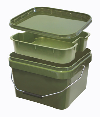 Lemco 10L Square Bucket with Internal Tray
