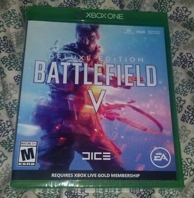 Battlefield V DELUXE EDITION (Microsoft Xbox One, 2018) Arrived 11/20