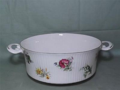 Queens China Flower of the Month Vegetable Dish or Tureen Base