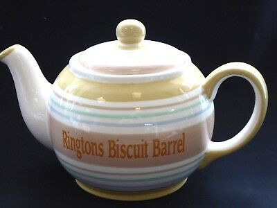 Rington's Teapot Biscuit Barrel/ Cookie Jar