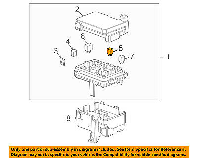 GM OEM Fuse Relay-Fusible Link 15342606