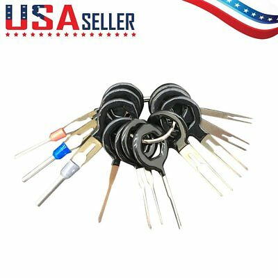 11 Terminal Removal Tool Car Electrical Wiring Crimp Connector Pin Extractor A&