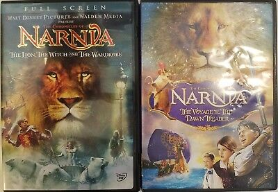 The Chronicles of Narnia: The Lion Witch Wardrobe / Voyage Dawn Threader (DVD)