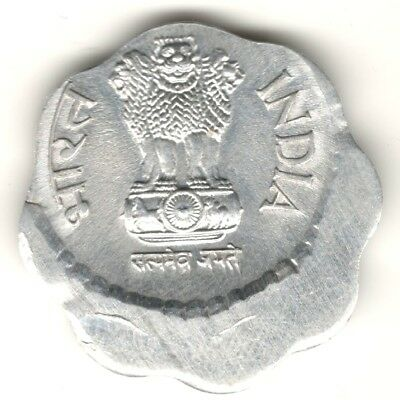 10 Paise 1984 Die Shifting Error Coin India