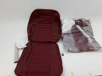Volvo 692090-692091 seat cover set front red Volvo Amazon 1967-1968