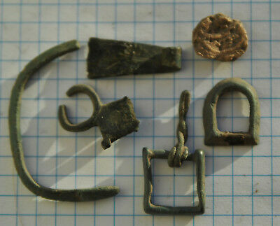 Ancient MIX  find №283 Metal detector finds 100% original