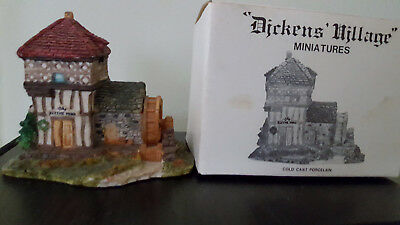 Set of 3 Dept 56 Dickens' Village Cold Cast Porcelain Miniatures