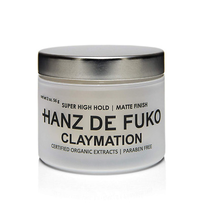 Hanz De Fuko Premium Men's Hair Styling Claymation: High Performance Hair A