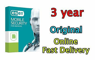 Eset mobile security 2018 premium 3Year activation key for android Fast Delivery