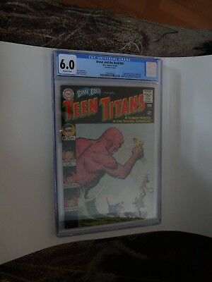 Brave and the Bold #60 CGC (6.0) 1st app. of the new Wonder Girl! Key !!!