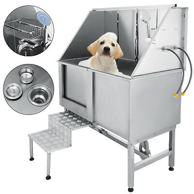 "50"" Chien Animal Toilettage Bain Baignoire Verins Pet Dog Lavage Durabilité"