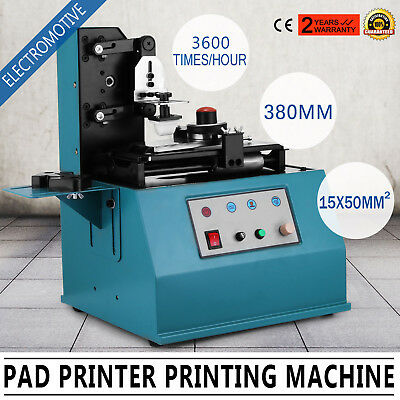 TDY-300 Pad Printer Date Logo Printing Machine New Electric Commercial PRO