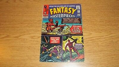 Fantasy Masterpieces Marvel Comics 1966 Series #2 12C Silver Kirby/ditko