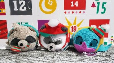 Mini Tsum Tsums Pocahontas Set Advent Calendar 2018 Plush Disney Store BNWT Flit