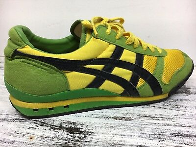 info for c9a53 eee7e RARE! ASICS ONITSUKA Tiger HQ20F Mens Shoes Geen Blk Yellow Multi-Color 8.5  / 42
