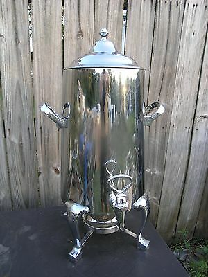 D.W. Haber & Sons Commercial Coffee Urn / Server w Thermovar Electric Pre-Heat