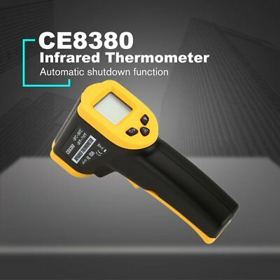 CE8380 Laser LCD Digital IR Infrared Thermometer Temperature Gun Thermome ZU