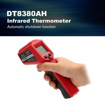DT8380AH Laser LCD Digital IR Infrared Thermometer Temperature Gun Thermome ZU