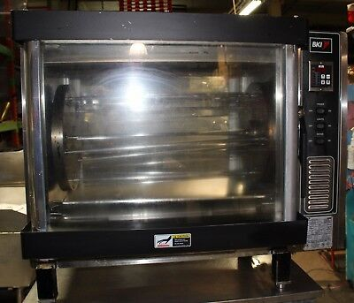Used BKI CounterTop Chicken Rotisserie Oven Model DR-34