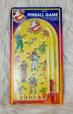 Real Ghostbusters Pinball Game Ja-Ru Handheld NOS Excellent Characters RARE