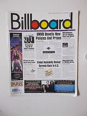 BILLBOARD MAGAZINE * 3rd APRIL.1999 * SPECIAL ABBA MUSIC BIZ TRIBUTE EDITION