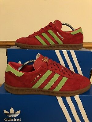 sports shoes 4c41c a3138 Adidas Hamburg Adi Suede Uk8 - Mint Condition! Og Box! - Stockholm