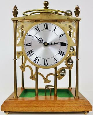 Rare Vintage English Spherical Weight Rolling Ball Mystery Table Mantle Clock