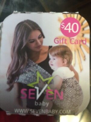 Seven Baby $40 Gift Card