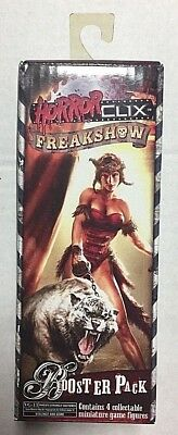 HorrorClix (2007) - Sealed Booster Pack - 4 Random Miniatures - WizKids Games
